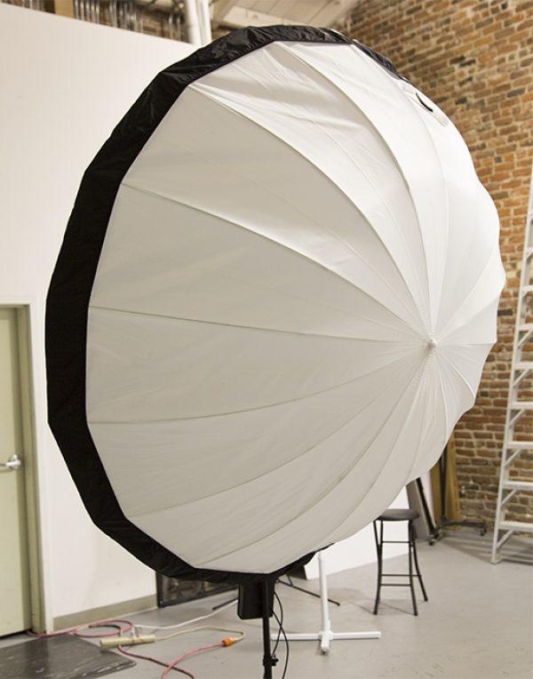 "72"" Black Panel Umbrella Cover"