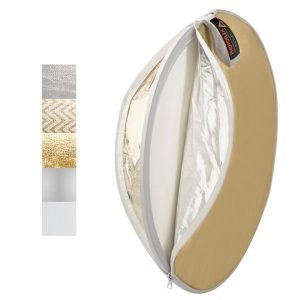 5-in-1 MultiDisc Reflector 22""