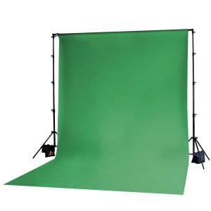 Muslin Backdrop 10x20' Chroma Green