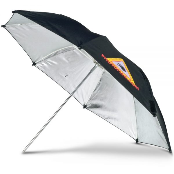 "ADH 30"" Silver Adjustable Umbrella"