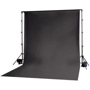 Muslin Backdrop 10x20' Black