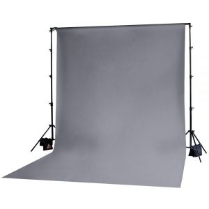 Muslin Backdrop 10x12' Grey
