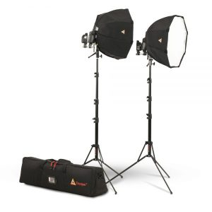 OctoDome®: White Portable Speedlight Kit